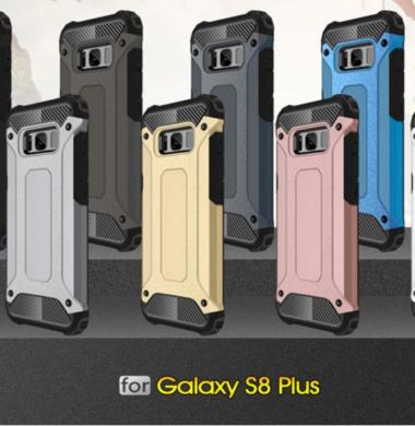Samsung Galaxy S8 Plus – Hybrid Shockproof Rugged Rubber Gel Armor Case